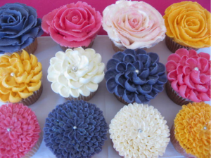 PipedButtercreamFlowers